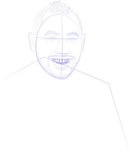 Langkah 9. Super Simpel Menggambar Dimitri Payet