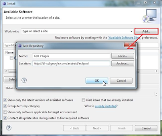 Cara Install dan Setting Android SDK di Eclipse