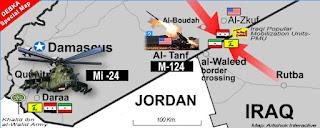 Syrian Army Capturing Border-Crossing with Jordan