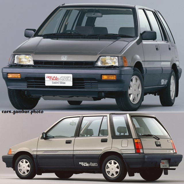 Honda Civic Shuttle 3rd Gen Wagon RT-J 4WD 1986