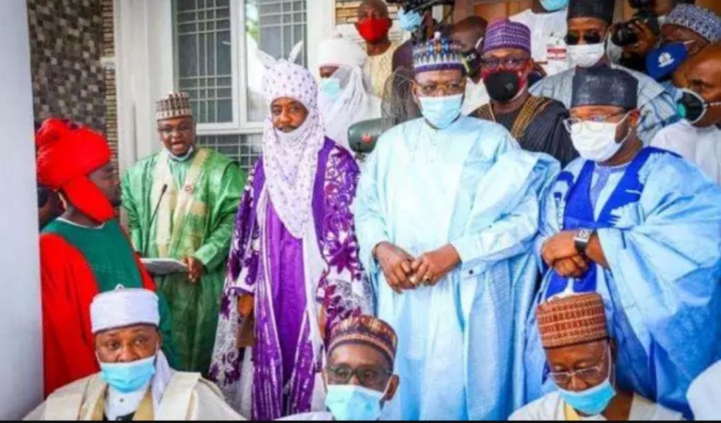 [PHOTOS]: Sanusi Lamido, Saraki, Oshiomhole, Badaru, Fantami, Galadima And Others Attend The Wedding Fatiha of El-rufai Son