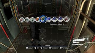 RE6 inventaire très large pour munitions