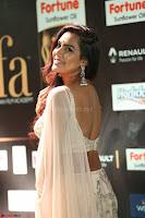 Prajna Actress in backless Cream Choli and transparent saree at IIFA Utsavam Awards 2017 0088.JPG