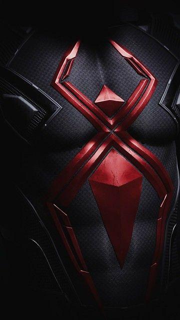 Gambar spiderman hitam