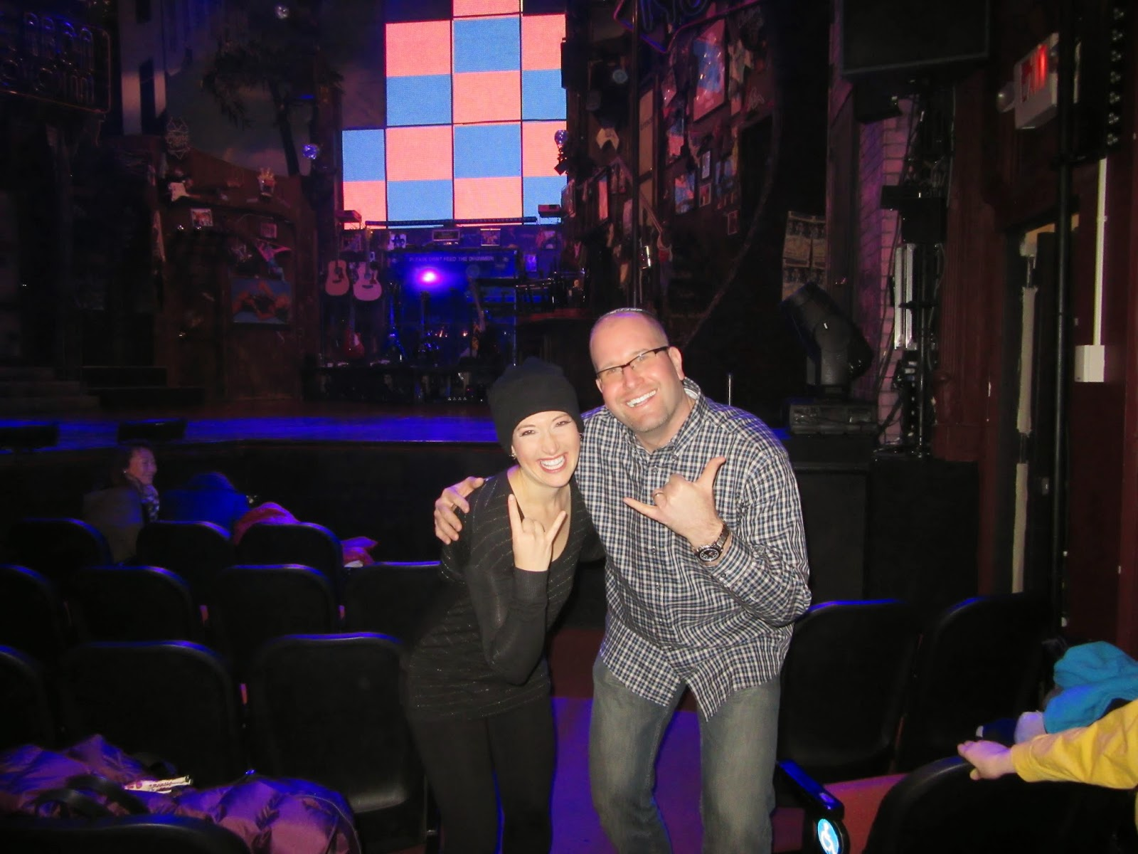 Randi Zuckerberg in Rock of Ages on Broadway with Rabbi Jason