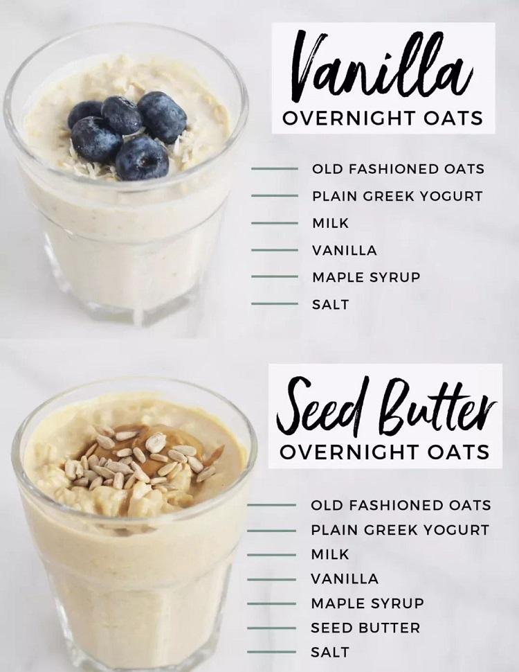 6 Resipi Overnite Oat Sesuai Untuk Menu Diet - Ringkas Dan Mudah Disediakan