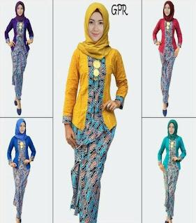 fashion baju batik terbaru