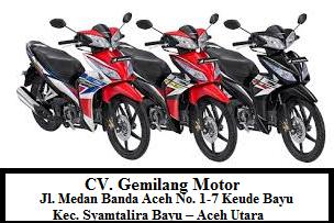 Lowongan Kerja pada Gemilang Motor Aceh - Februari 2017