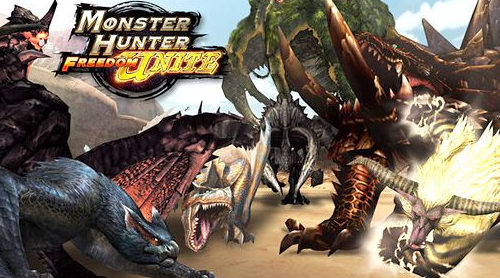 Monster Hunter Freedom Unite PPSSPP ISO Android