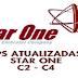 LISTA DE TPS ATUALIZADAS DO SATÉLITE STAR ONE C2/C4 70W BANDA KU OPERADORA CLARO TV CONFIRA - 05/10/2017