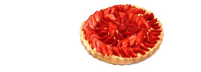 Tarte aux fraises de mon papa