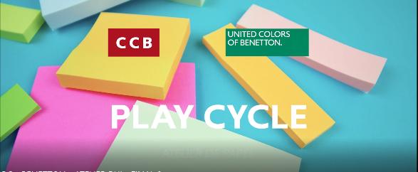 A United Colors of Benetton uniu-se ao Centro Cultural de Belém para criar Play Cycle, um projeto artístico para crianças que visa sensibilizar as famílias para o tema da sustentabilidade.