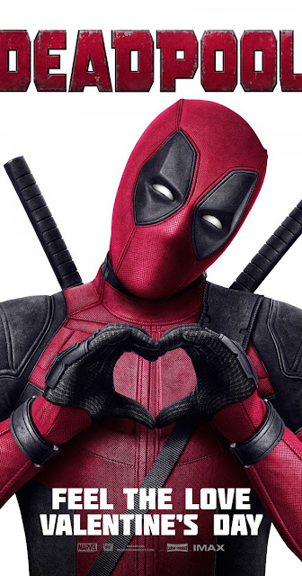 Deadpool Feel The Love Poster