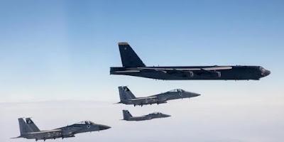 Pesawat Bomber B-52 Berkeliaran Di Teluk Persia, Iran Terancam!