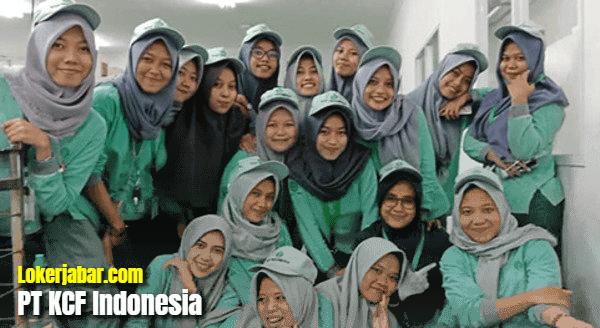 Lowongan Kerja PT KCF Indonesia Mei 2021