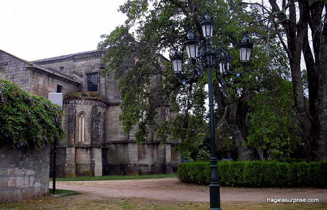 Igreja de Santo Domingo, arredores de Tuy, no Caminho de Santiago