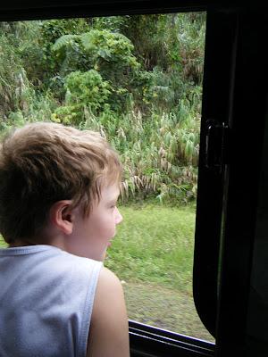 bus trip in Fiji