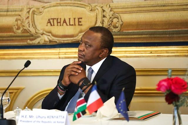 President Uhuru Kenyatta at Statehouse Nairobi photo