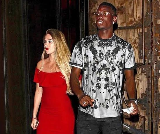 Paul Pogba and his girlfriend grooving to Burna Boy's hit song 'Gbona' (video)
