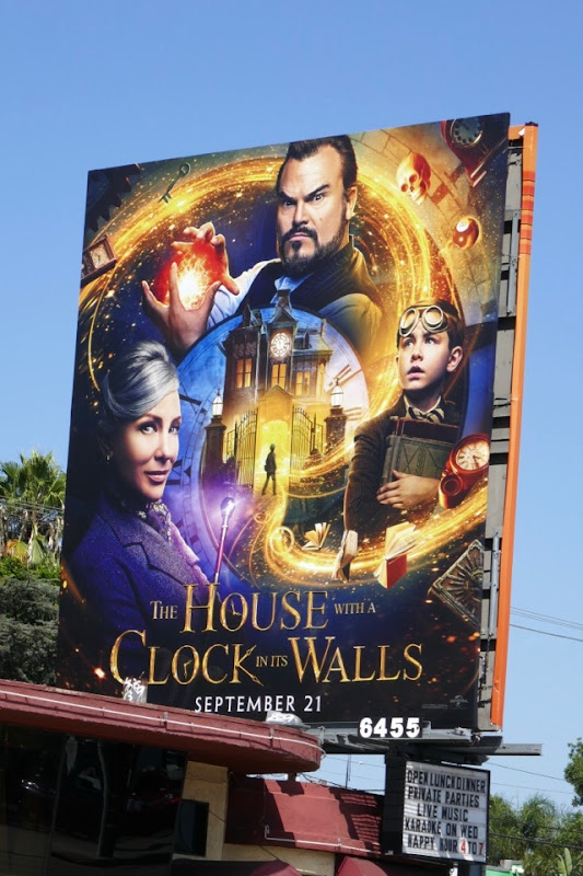 House with a Clock in its Walls movie billboard