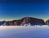 Greenland Coast by Rockwell Kent - Landscape Paintings from Hermitage Museum