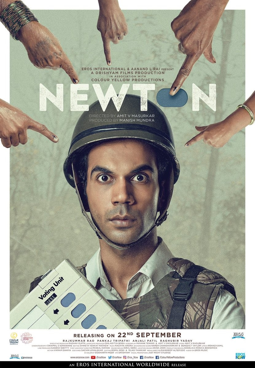 Rajkummar Rao's Newton Film First Look Poster