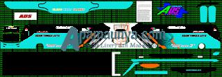 Livery Agam Tugga Jaya Toska Ads JB3+ SHD
