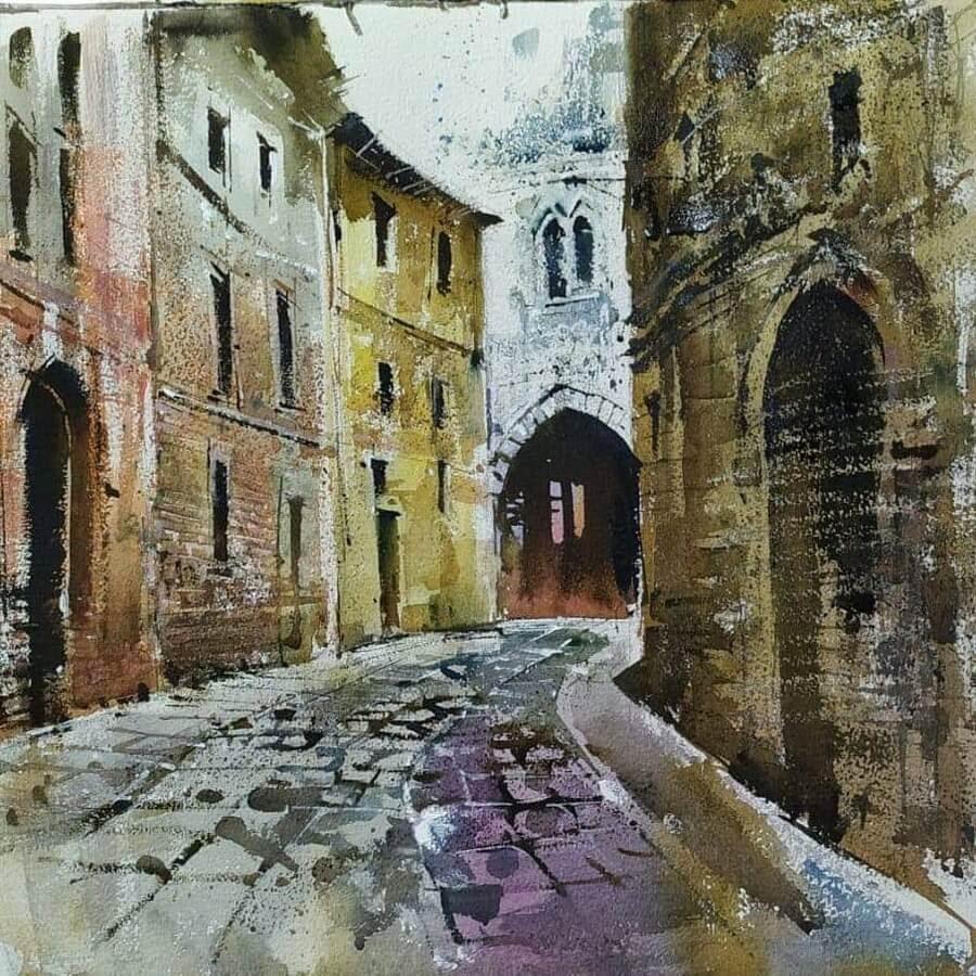 02-Meandering-road-Paintings-Milind-Mulick-www-designstack-co