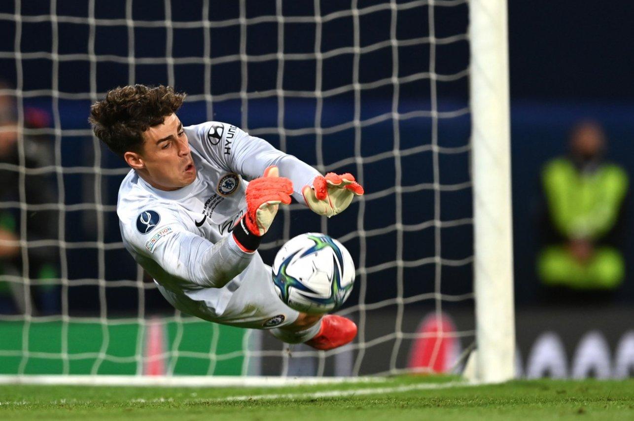 Chelsea goalkeeper goalkeeper Kepa Arrizabalaga