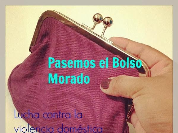 Pasa el Bolso Morado #PurplePurse para apoyar a la campaña contra la violencia doméstica