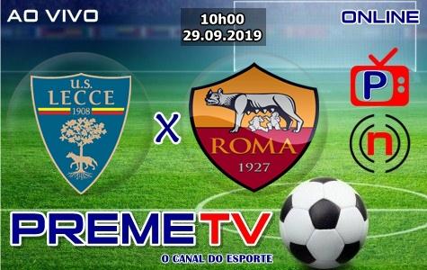 Lecce x Roma Clássico Ao Vivo