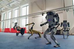 Tarian 4 Robot Boston Dynamics di 'Do You Love Me?' Sangat Mengesankan