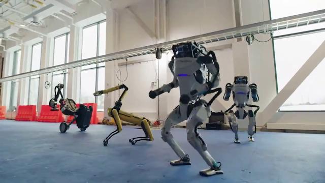 Tarian 4 Robot Boston Dynamics di 'Do You Love Me' Sangat Mengesankan