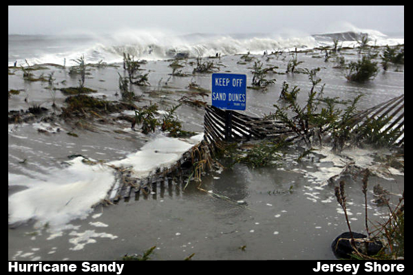 Hurrican Sandy slams Jersey Shore 10-29-2012