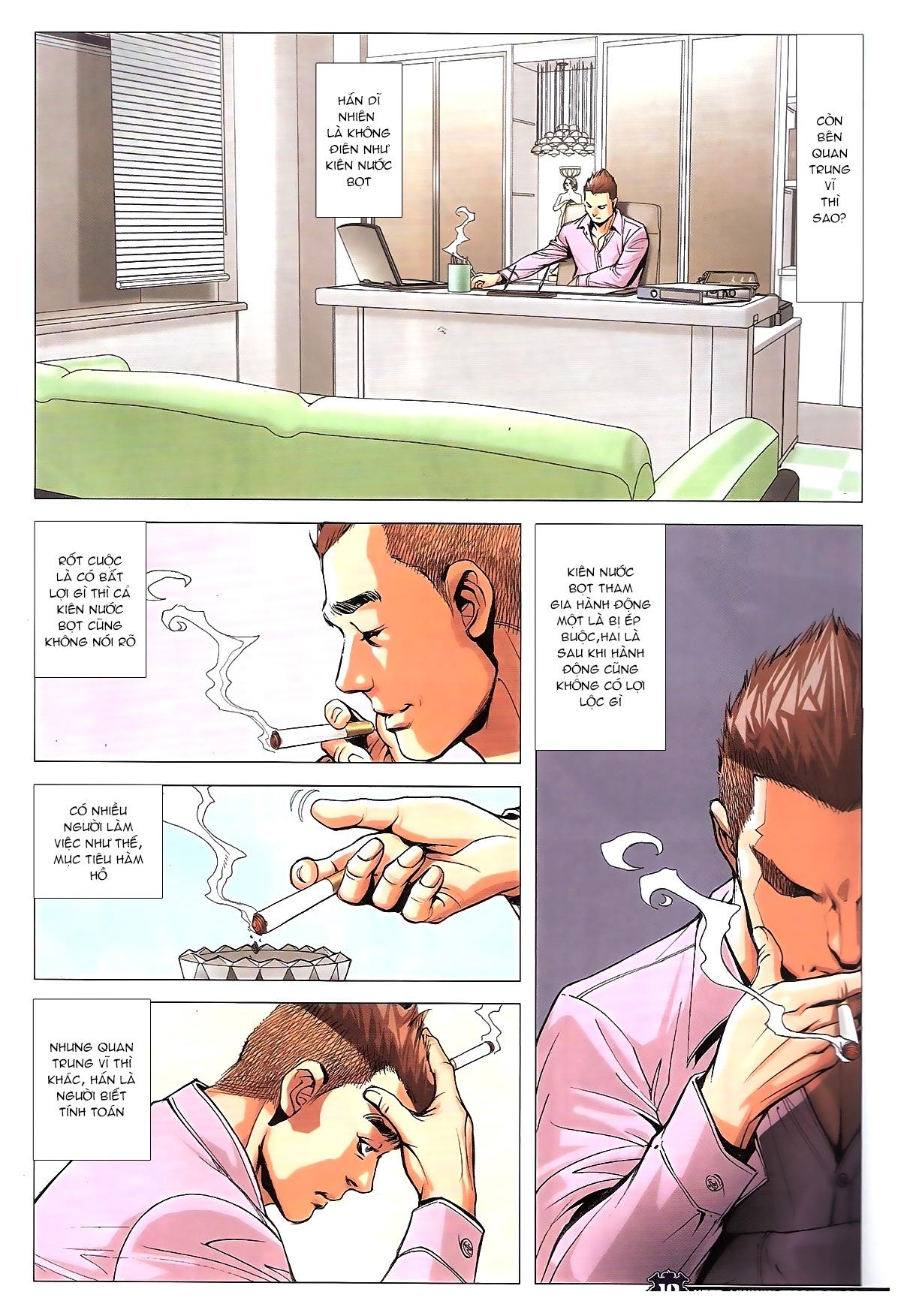 Người Trong Giang Hồ chapter 1784: cự long ngủ say trang 8