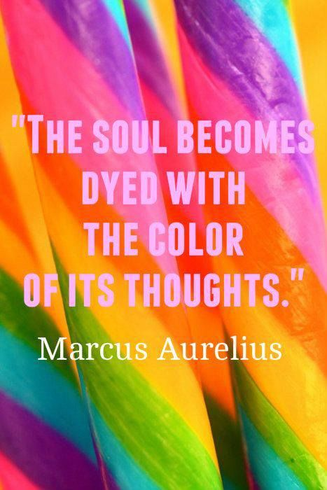 Inspirational Picture Quotes...: The soul becomes dye with ...