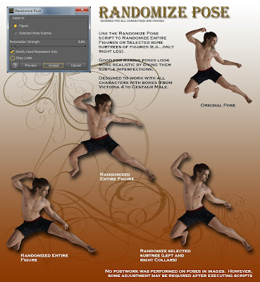 Pose Randomizer