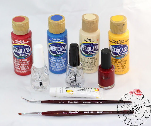 flor-one-stroke-pintura-acrilica-americana