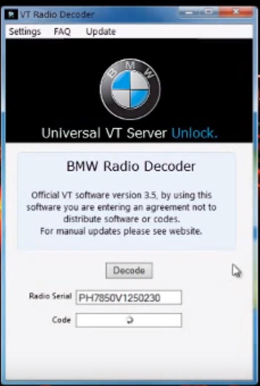 vt radio decoder