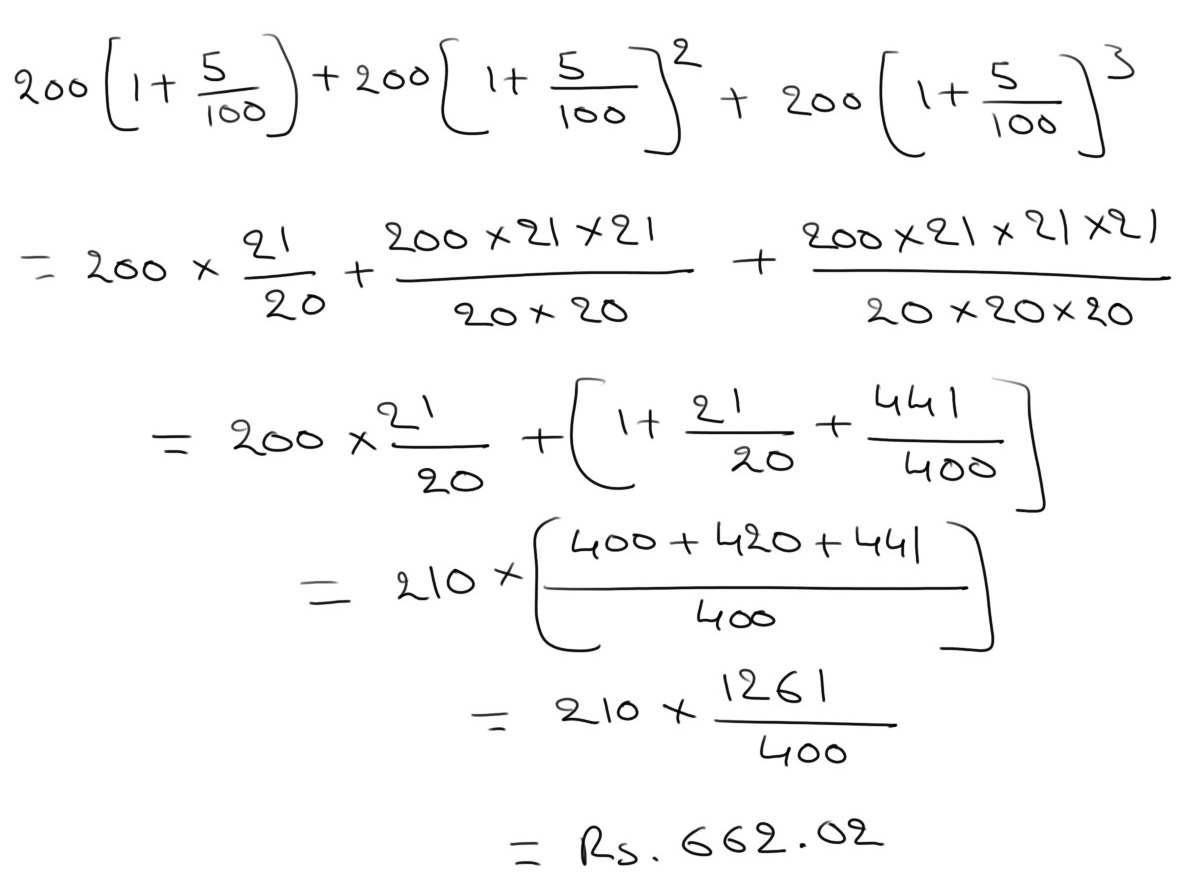 simple interest and compound interest problems and solutions pdf