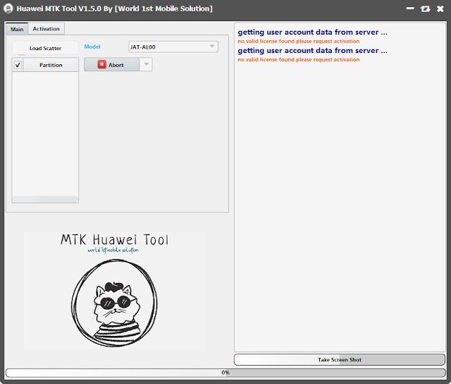 Huawei MTK Tool V1.5.0