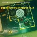 samsung keystone 2 GT-E1205T no signal tidak ada sinyal