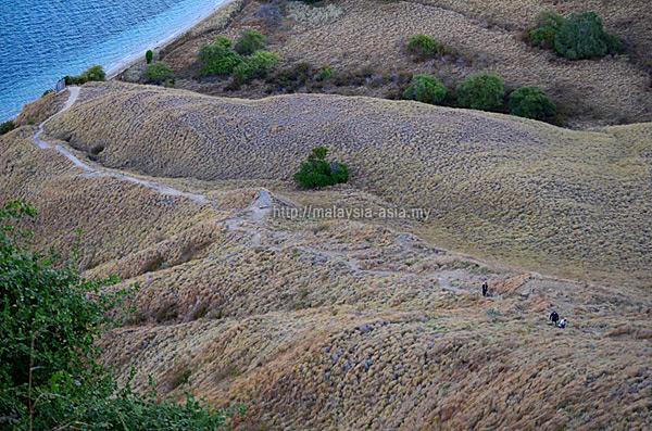 Trekking Trail Gili Lawa Darat Island