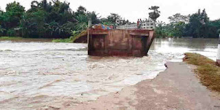 Flood is effecting Dhemaji in a bad way