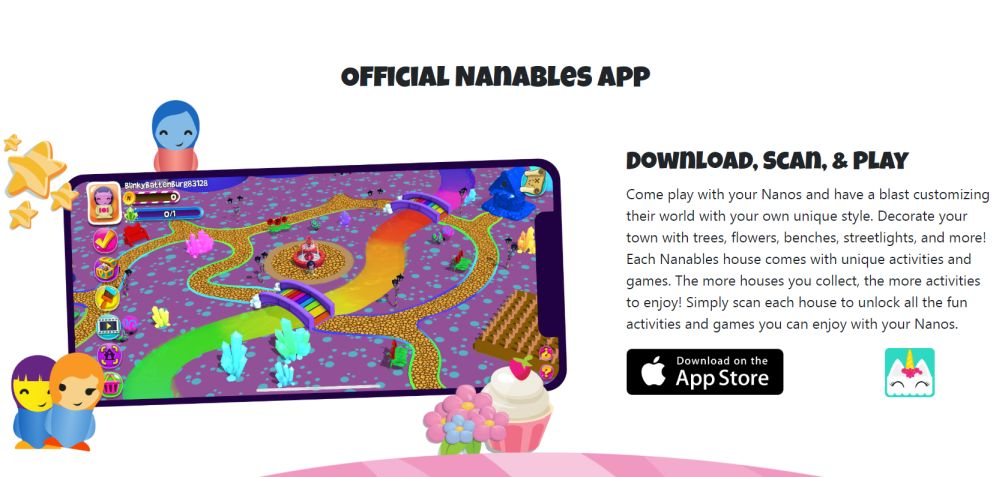 Nanables app