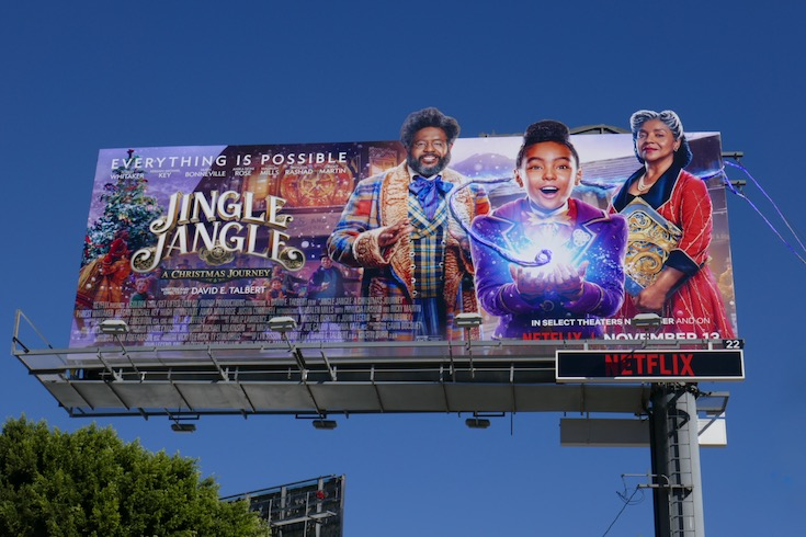 Jingle Jangle Christmas Journey billboard