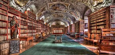 library - Prague