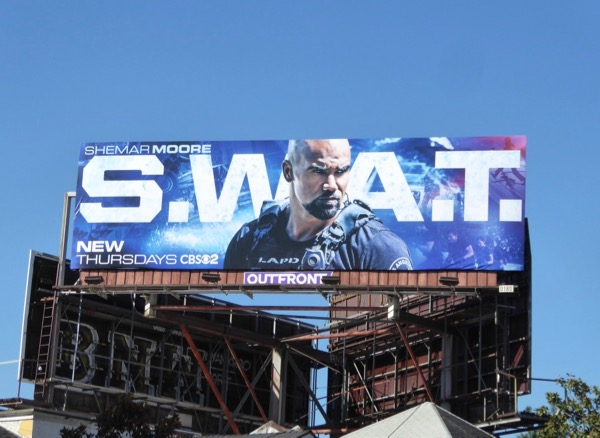 SWAT series launch billboard