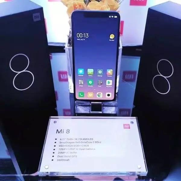 Xiaomi Mi 8 (6GB/64GB) Receives Price Cut