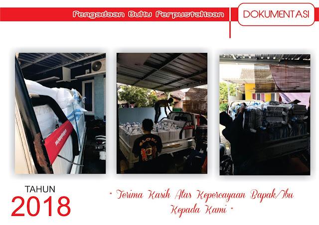 Dokumentasi Pelaksanaan Pengadaan Buku Perpustakaan Tahun 2018 Bagian 1